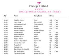 20180826 ManegeHitland_FNRS-Startlijst-v02