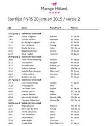 20190120 ManegeHitland_FNRS-Startlijst-v02