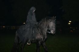 Halloween paard