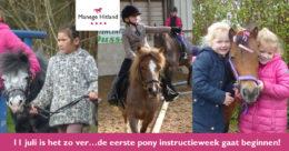 ManegeHitland-ponyinstructieweek